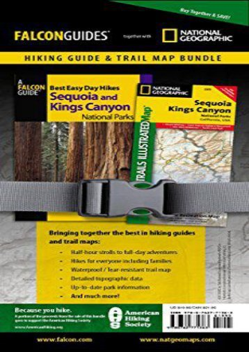 Best Easy Day Hiking Guide and Trail Map Bundle: Sequoia and Kings Canyon National Park (Best Easy Day Hikes Series)