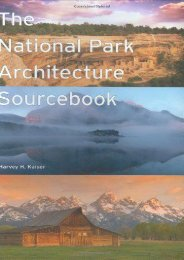 National Park Architecture Sourcebook, The