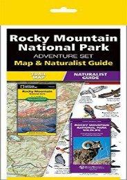 Rocky Mountain National Park Adventure Set: Map   Naturalist Guide