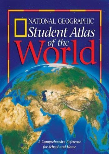 National geographic student world atlas national geographic student atlas of the world publicscrutiny Gallery