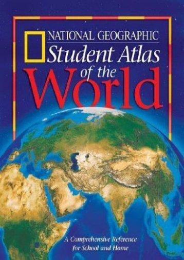 National geographic kids world atlas atlas national geographic student atlas of the world publicscrutiny Images