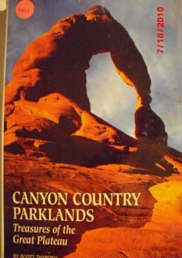 Canyon Country Parklands: Treasures of the Great Plateau (Travel books)