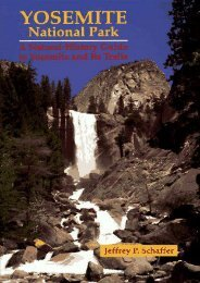 Yosemite National Park: A Natural-History Guide to Yosemite and Its Trails