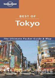 Lonely Planet Best of Tokyo (Lonely Planet Tokyo Encounter)