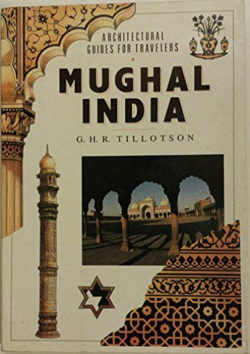 Mughal India (Architectural Guides for Travelers)