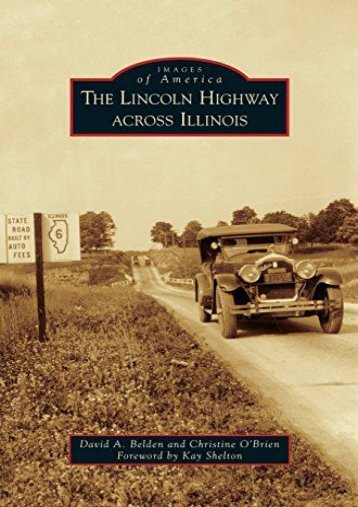 Lincoln Highway Across Illinois
