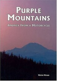 Purple Mountains: America from a Motorcycle