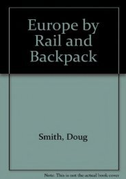 Europe by Rail and Backpack