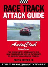 Race Track Attack Guide-Auto Club Speedway