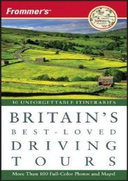Frommer s Britain s Best-Loved Driving Tours