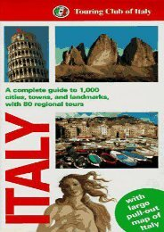 Touring Club Italiano: Italy (Tci Guides)