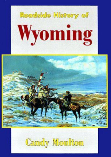 Roadside History of Wyoming  (Paperback)