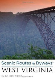 Scenic Routes   Byways West Virginia