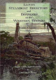 Lloyd s Steamboat Directory and Disasters on the Western Waters