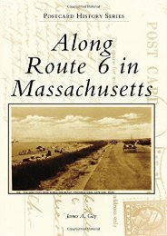 Along Route 6 in Massachusetts (Postcard History Series)