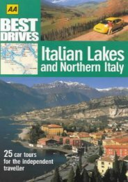 Italian Lakes and Northern Italy (AA Best Drives)