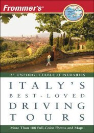 Frommer s Italy s Best-Loved Driving Tours