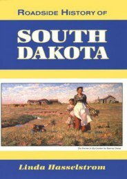 Roadside History of South Dakota (Roadside History Series)
