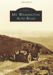 Mt. Washington Auto Road (Images of America)