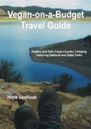 Vegan-on-a-Budget Travel Guide: Healthy and Safe Cross-Country Camping Featuring National and State Parks of the U.S.