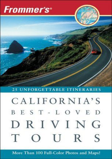 Frommer s California s Best-Loved Driving Tours