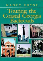 Touring the Coastal Georgia Backroads (Touring the Backroads Series)
