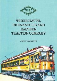 Terre Haute, Indianapolis and Eastern Traction Company
