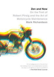 Zen and Now: On the Trail of Robert Pirsig and the Art of Motorcycle Maintenance (Vintage Departures)