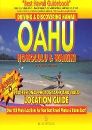 Driving and Discovering Hawaii: Oahu, Honolulu and Waikiki (Driving and Discovering Books)