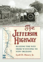 The Jefferson Highway: Blazing the Way from Winnepeg to New Orleans (Iowa and the Midwest Experience)