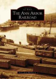 THe Ann  Arbor  Railroad   (MI)   (Images  of  Rail)
