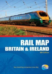 Rail Map of Britain   Ireland, 8th