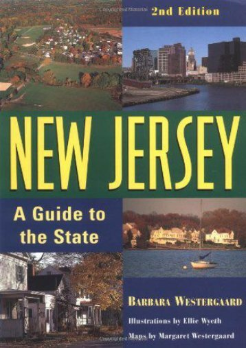New Jersey: A Guide to the State, 2nd Edition