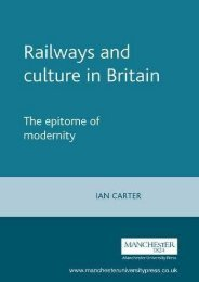Railways and culture in Britain: The epitome of modernity (Studies in Popular Culture MUP)