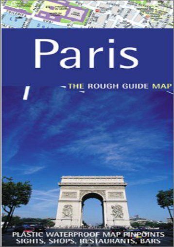 The Rough Guide to Paris Map (Rough Guide City Maps)