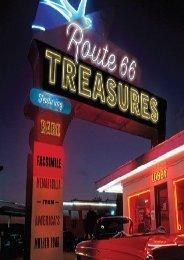 Route 66 Treasures: Featuring Rare Facsimile Memorabilia from America s Mother Road