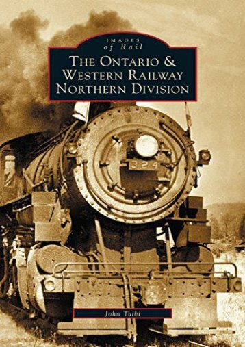 Ontario and Western Railway Northern Division