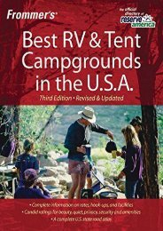 Frommer s Best RV and Tent Campgrounds in the U.S.A. (Frommer s Best RV   Tent Campgrounds in the U.S.A.)