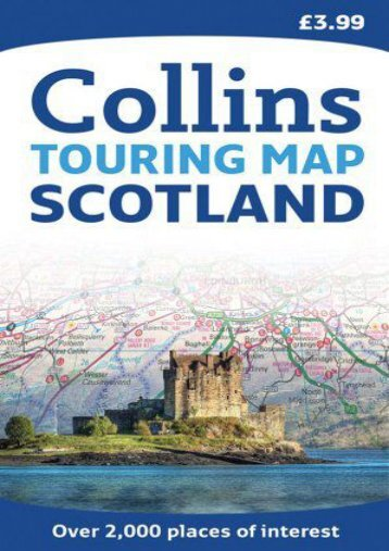 Collins Scotland Touring Map 1:316,800 (Collins Travel Guides)