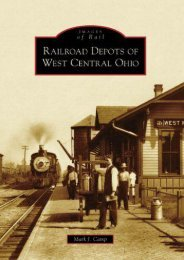 Railroad Depots of West Central Ohio  (OH)  (Images of Rail)