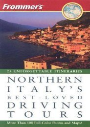 Frommer s Northern Italy s Best-Loved Driving Tours
