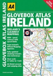 Glovebox Atlas Ireland (AA Glovebox Atlas)