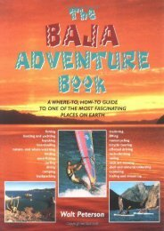Baja Adventure Book