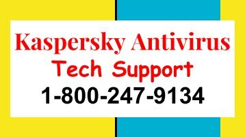 +1-800-247-9134 Kaspersky Support Number USA & Canada