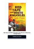 Red Tape and White Knuckles: One Woman s Adventure Through Africa - Page 2