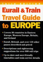 Eurail and Train Travel Guide to Europe