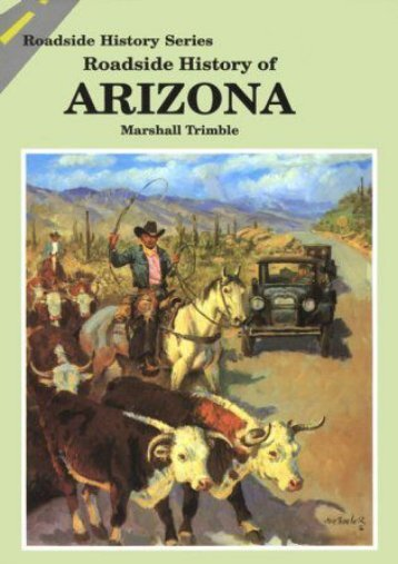 Roadside History of Arizona