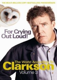 For Crying Out Loud: The World According to Clarkson v. 3