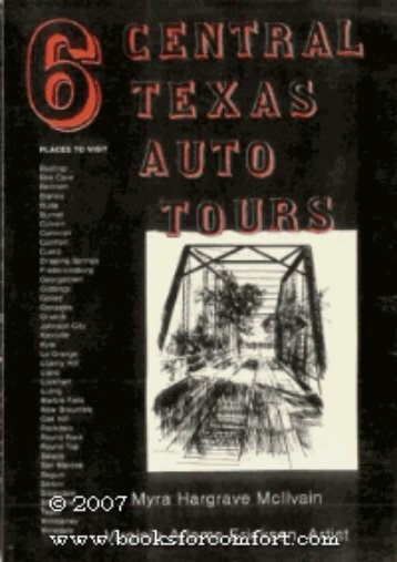 Six Central Texas Auto Tours