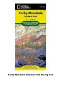 Rocky Mountain National Park Hiking Map - Page 5